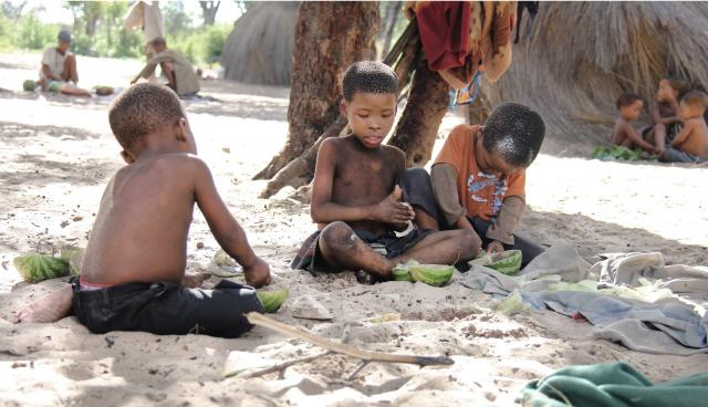 3 boys in the village